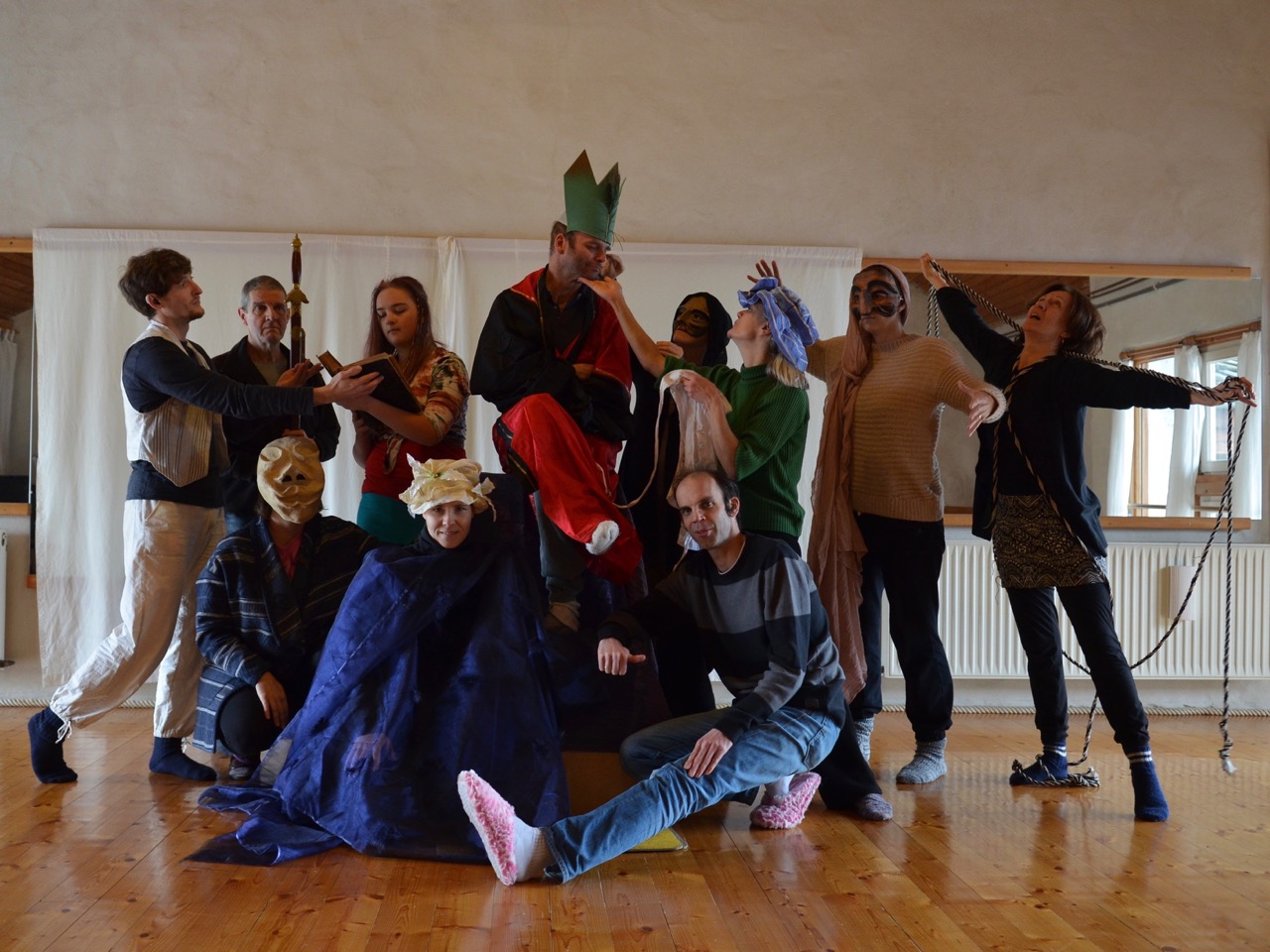 Theater Handstand Gruppe